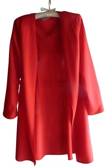 Preload https://img-static.tradesy.com/item/37328/coldwater-creek-red-coat-and-knee-length-night-out-dress-size-12-l-0-0-650-650.jpg