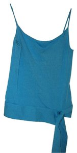 Banana Republic Silk Blend Spaghetti Strap Top Blue