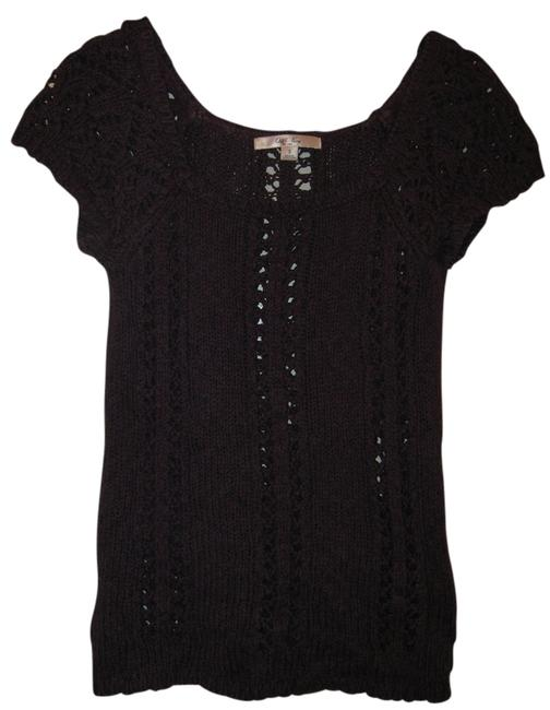 Preload https://item2.tradesy.com/images/old-navy-dark-purple-loose-knit-sweater-blouse-size-6-s-3732901-0-0.jpg?width=400&height=650