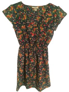 Tucker short dress Multi-colored Floral on Tradesy