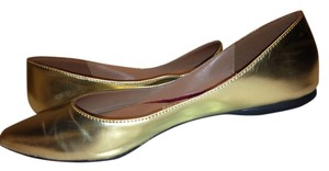 Christian Siriano for Payless Gold Flats