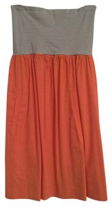 Theory short dress Orange on Tradesy