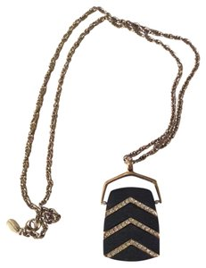 Ann Taylor Ann Taylor Chevron Statement Necklace