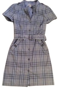 Burberry short dress Plaid on Tradesy