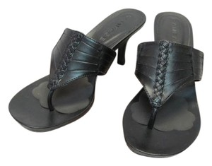 Rampage New Excellent Condition Size 6 BLACK Sandals