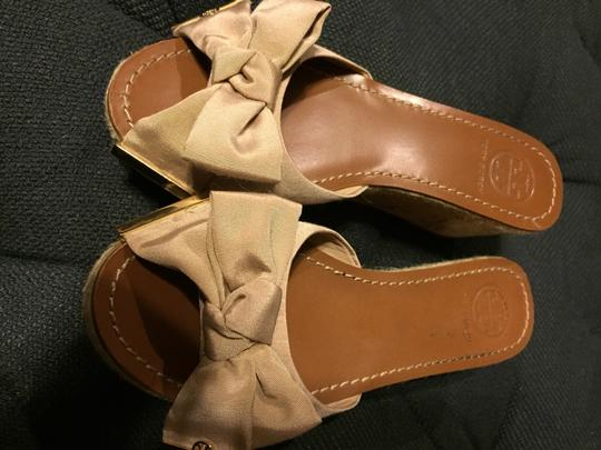 Tory Burch Champagne Wedges