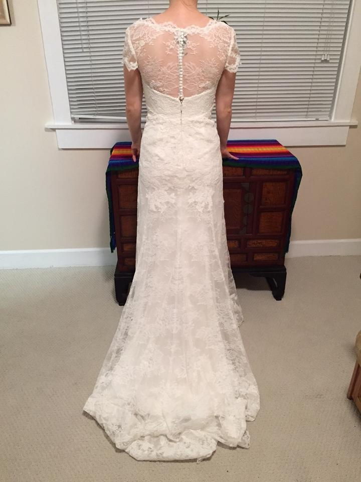 Watters Ivory Lace with Embroidered Lace Erin Gown 4068b Feminine ...