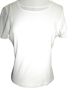 Carolyn Taylor Cotton Medium T Shirt White