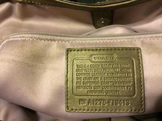 Coach Satchel in Pewter