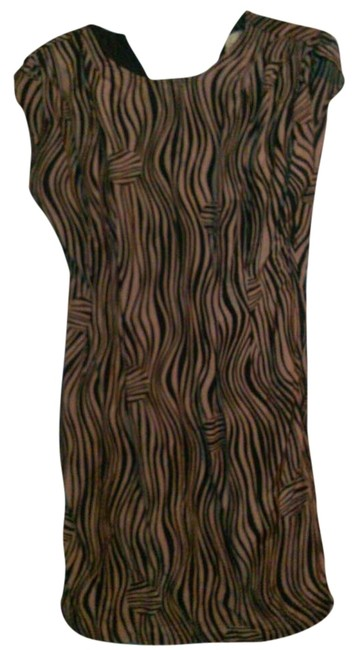 H&M short dress animals/stripes Animal Animal Print Classic on Tradesy
