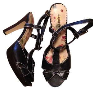 Madden Girl Black Sandals