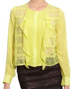 BCBGMAXAZRIA Top Yellow