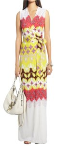 Maxi Dress by Diane von Furstenberg Maxi Silk Wrap Print
