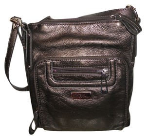 Stone Mountain Accessories Leather Organizer Shoulder Gc Cross Body Bag