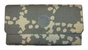 Kipling Animal Print Large Brownie Organizer Wallet