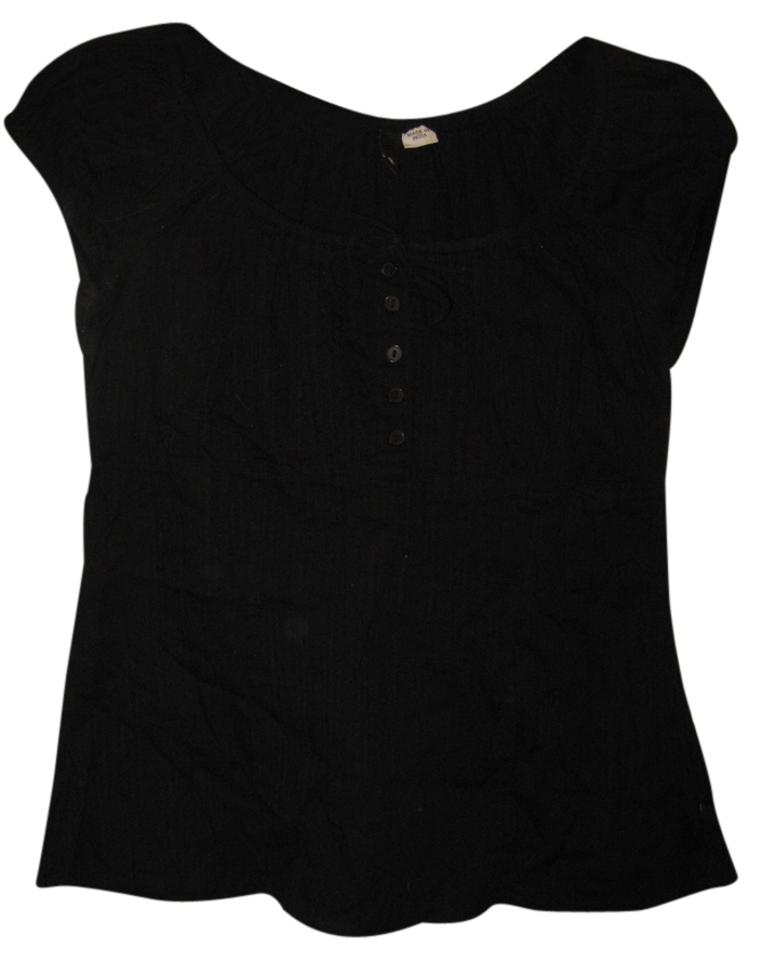 2db830871f357a Divided by H M Black Sleeveless Scoop Neck Shirt Blouse. Size  6 (S) ...
