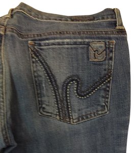 Citizens of Humanity Boot Cut Jeans-Distressed