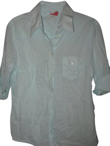 Esprit Button Down Shirt Aqua