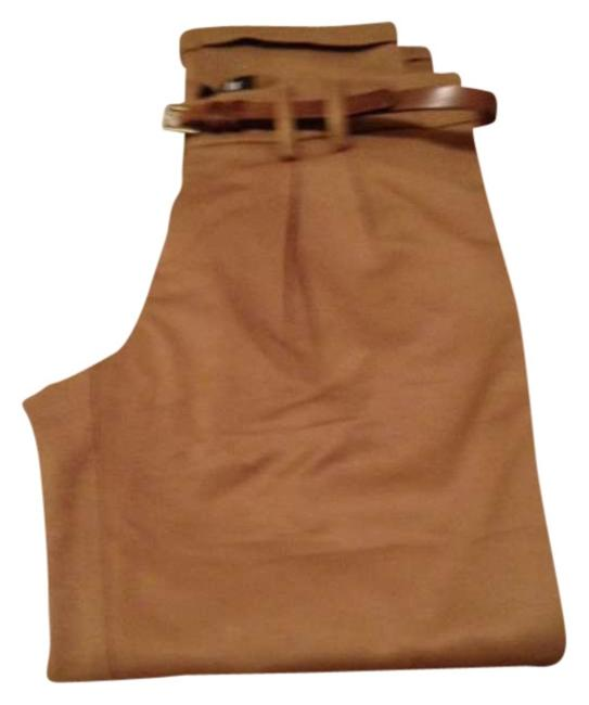 Item - Camel Slacks Tan Cuffed Pants Size 4 (S, 27)