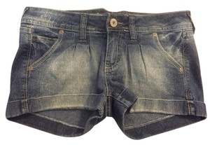 WallFlower Denim Shorts-Light Wash