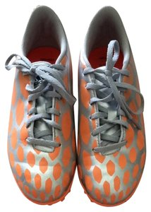 adidas Orange And Silver Athletic