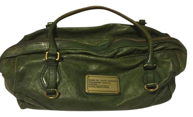 Item - Forest Green Leather Hobo Bag