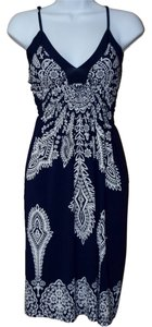MT Collection short dress Blue on Tradesy