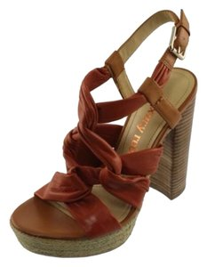 Luxury Rebel Rust Sandals