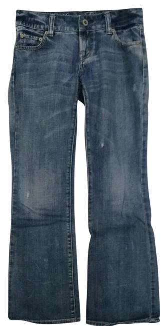 American Eagle Outfitters Trouser/Wide Leg Jeans-Medium Wash