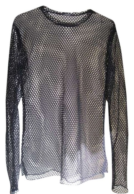 Preload https://item3.tradesy.com/images/black-unique-unisex-mesh-fishnet-see-through-for-club-halloween-concert-party-disco-drummer-night-ou-373912-0-0.jpg?width=400&height=650
