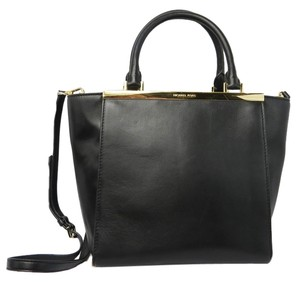 Michael Kors Structured Tote in Black