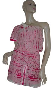 L.A.M.B. short dress Pink One Shoulder on Tradesy