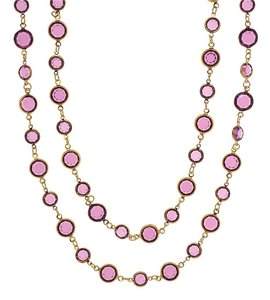 Chanel Chanel Vintage Purple Sautoir Necklace