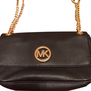 Michael Kors Luxury Travel Party Jetset Leather Soft Monogram Shoulder Bag