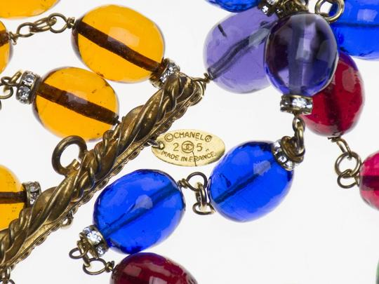 Chanel Chanel Vintage Multi-Strand Glass Beaded Necklace