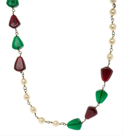 Preload https://item1.tradesy.com/images/chanel-chanel-vintage-rare-poured-glass-neckalce-3739855-0-0.jpg?width=440&height=440