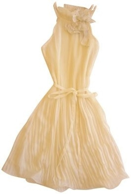 Preload https://item5.tradesy.com/images/anthropologie-yellow-short-casual-dress-size-8-m-374-0-0.jpg?width=400&height=650
