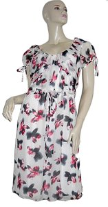 Carolina Herrera Floral Silk Dress