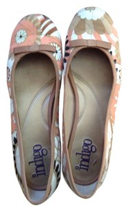 Clarks Floral/multi Flats