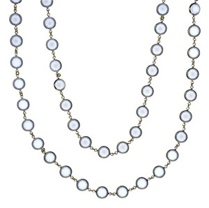 Chanel Chanel Sky Blue Sautoir Necklace