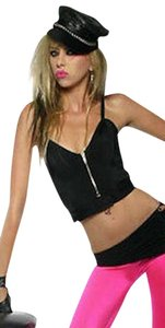 Lip Service Halter Top black