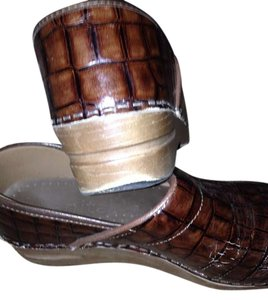 Sanita Caramel brown Mules