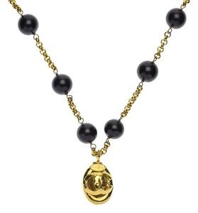 Chanel Chanel Vintage Purple & Gold Necklace