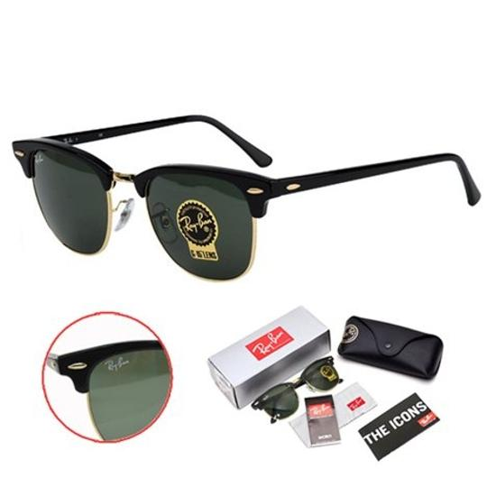 867382c00a ... Ray-Ban Authentic Ray Ban Clubmaster RB3016 W0365 G-15 Dark Green Lens  With