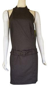 Gianni Bini short dress Brown Low Waist Belt on Tradesy