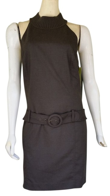 Preload https://item5.tradesy.com/images/gianni-bini-brown-low-waisted-belted-knee-length-short-casual-dress-size-10-m-3741754-0-0.jpg?width=400&height=650