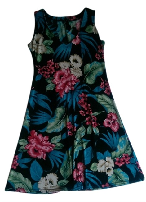 Tiana B. short dress Floral, Multi-Color on Tradesy