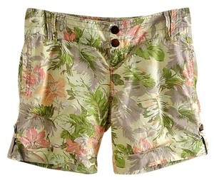 Mossimo Supply Co. Cotton Dress Shorts floral
