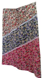 Yag Couture Floral Summer Skirt Multi