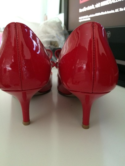 Valentino Couture Patent Bows Stiletto Rockstud New Trendy Classic Special Occasion Dressy Red Pumps
